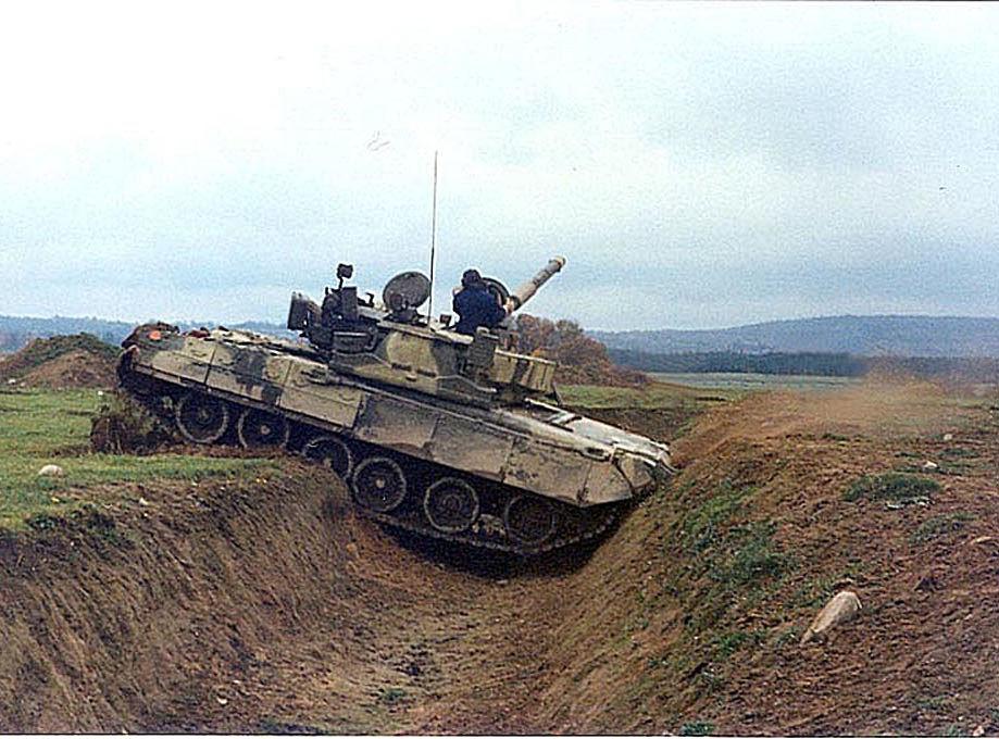 Харьковский бронетанковый ремонтный завод (хбрз) в 2007 г провел заводские испытания танка т-55-64